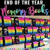 End of the Year Memory Flip Books Pre-K Kindergarten 1st
