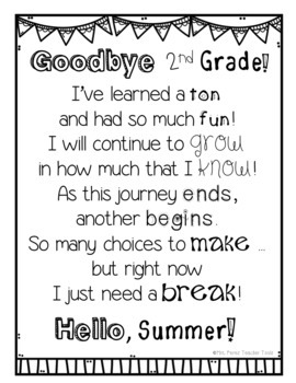 End of the Year Memory Lapbook File