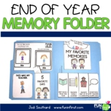 End of the Year Memory Folder