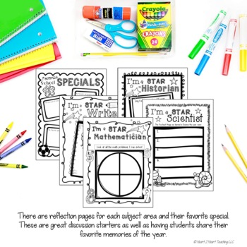 End of Year Activities: Create a Memory Book Keepsake for Grades 1-4