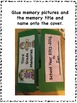 End of the Year Memory Lapbook for Third Grade