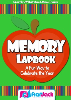 End of the Year Memory Lapbook - in Spanish, too!