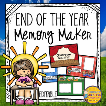 End of the Year Memory Maker
