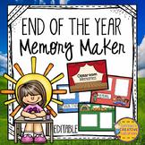 End of Year Memory Book- Digital Google Slides
