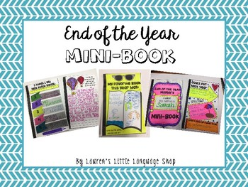 End of the Year Memory Mini-Book