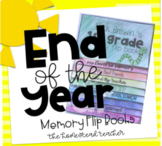 End of the Year Memory Writing Flip Book