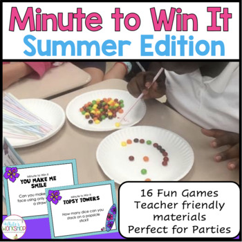 End of the Year Minute to Win it Games