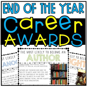 "End of the Year ""Most Likely to..."" Career Awards (with REAL PICTURES!)"
