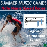 Summer Music Games- Note Name Speed Races