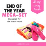 End of the Year Music Mega-Set {Bundle}