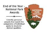 End of the Year National Park Awards