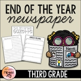 End of the Year Newspaper - 3rd Grade