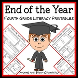 End of the Year No Prep Common Core Literacy (fourth grade)