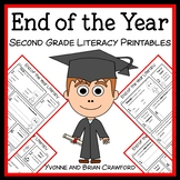 End of the Year No Prep Common Core Literacy (second grade)