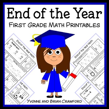 End of the Year No Prep Common Core Math (1st grade)