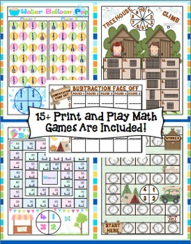 End of the Year Activities: 3rd Grade Math and ELA
