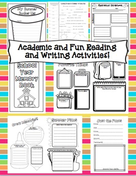5th Grade End of the Year Activities: 5th Grade ELA and Math Review