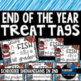 End of the Year O-FISH-AL Treat Bag Tags!