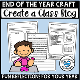 End of the Year Open House Projects Blog Writing Craft