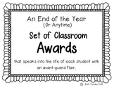 End of the Year (Or Anytime) Student Awards