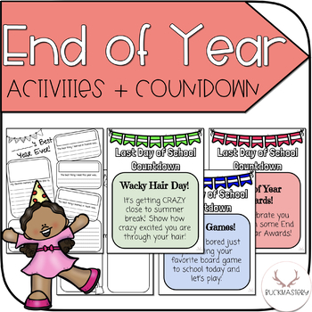 End of the Year Activities + Countdown Ideas