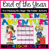 "End of the Year ""Packing My Bags"" Activity"