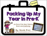 End of the Year - Packing Up My Year in Pre-K Memory Book and Craftivity