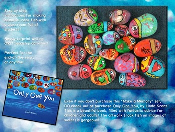 Beginning (or End) of the Year Painted Rock Fish: Make a Memory!