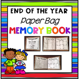 End of the Year Paper Bag Book