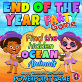 End of the Year Party Game and Class Photos Beach Theme |