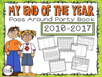 """End of the Year """"Pass Around Party""""  Memory Book"""