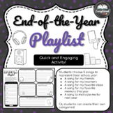 End-of-the-Year Playlist for Secondary Students