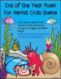End of the Year Poem with Hermit Crab