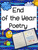 End of the Year Poetry Activity: 5 Senses At the Beach