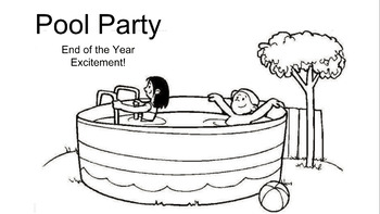 End of the Year Pool Party Projects (VA 3rd Grade SOLs)