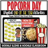 End of the Year Popcorn Theme Day Activities | Distance Le
