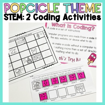 End of the Year Popsicle Themed Lessons & Activities