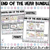 End of the Year Print and Digital Activities