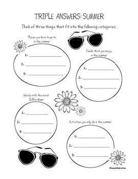 End of the Year Printable Activities Fun Pack