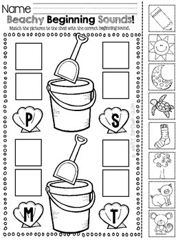 End of the Year Printables for Kindergarten