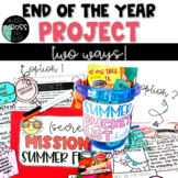 End of the Year Project | Summer Bucket List Project | Summer Project