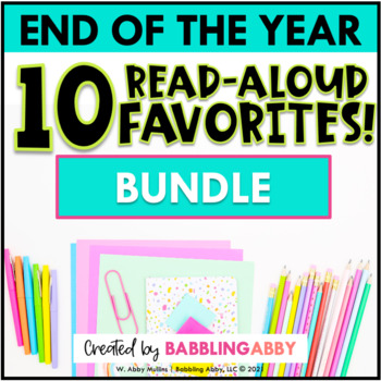 End of the Year Read Aloud BUNDLE
