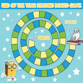 End of the Year Reading Literature Board Game