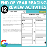 End of the Year Activities: Reading Review {12 Detailed Le