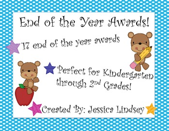 End of the Year Recognition Awards