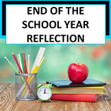 *Free* Student End of the Year Reflection