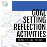 Goal Setting   End of the Year Reflection Worksheets