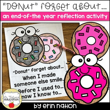 End-of-the-Year Reflection Activity