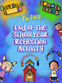 End of the Year Reflection Activity-Fun, Engaging, and NO PREP
