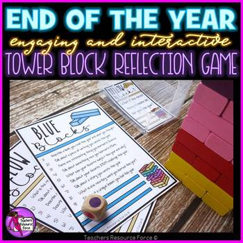 End of the Year Reflection Game - interactive, engaging and fun!